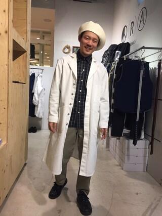 Revelations/|Hikimaさんの(CYDERHOUSE|サイダーハウス)を使ったコーディネート