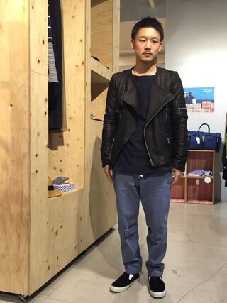 Revelations/|Hikimaさんの「PHINGERIN BONTAGE PANTS(PHINGERIN|フィンガリン)」を使ったコーディネート