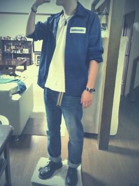 ニコニコ│usedのジャケット/アウターコーディネート