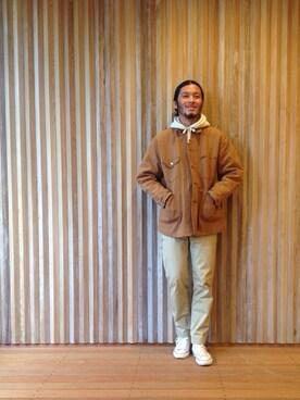 Pilgrim Surf+Supply|HAPPY西村さんの(CONVERSE)を使ったコーディネート