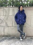 JOURNAL STANDARD relume 表参道店 Kimさんの「CONVERSE / コンバース: ALL STAR J HI / オールスター ハイカット メイドインジャパン#(CONVERSE コンバース)」を使ったコーディネート