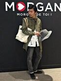shiratatsuさんの「アンブレラ(MORGAN HOMME|モルガンオム)」を使ったコーディネート