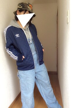 「adidas Originals Quilted Jacket AB7860(adidas)」 using this たーさん looks