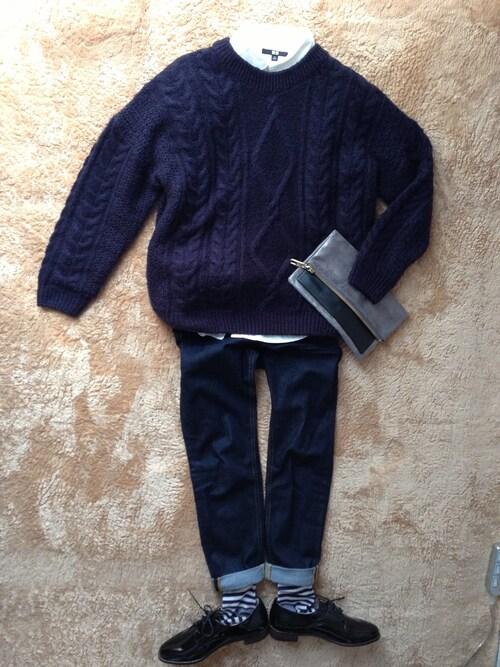 『無印良品 服で春のコーデ!レディース&キッズ マタニティ 着こなし定番コーディネート!婦人服』