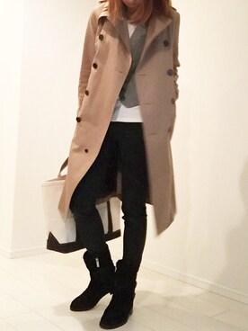 【季節別】レディーススーツにおすすめのコート|就活/ユニクロ