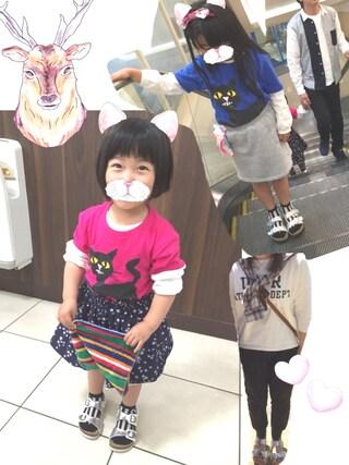 R♡M♡Sさんの「【雑誌掲載】【2015カタログ掲載】(SONIA.C) TERRY 102 LAMINATEO 2 BUCKLE SANDAL(ROSE BUD ローズバッド)」を使ったコーディネート