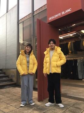 "DESCENTE BLANC DAIKANYAMA|ryohei    takahashiさんの「MIZUSAWA DOWN JACKET ""Anchor"" / 水沢ダウンジャケット""アンカー""(DESCENTE ALLTERRAIN|デサント オルテライン)」を使ったコーディネート"