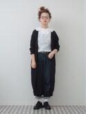 よちさんの「サークルクリップヘアピン(PLAIN CLOTHING|プレーンクロージング)」を使ったコーディネート