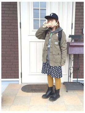 ゆきだるま☆さんの(BEAMS BOY ビームスボーイ)を使ったコーディネート