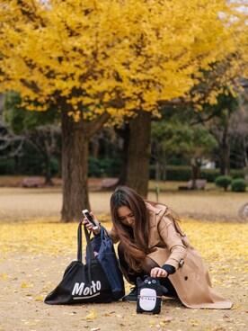 mas03さんの「トレンチコート2(UNITED TOKYO)」を使ったコーディネート