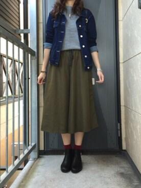 咲かすさんの「ガウチョパンツ(archives)」を使ったコーディネート