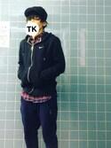 TKさんの「<TEMBEA(テンベア)> KNAPSACK CVS/バッグ◆(TEMBEA|テンベア)」を使ったコーディネート