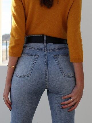 「Cheap Monday Spray On High Waist Organic Cotton Skinny Jeans(Cheap Monday)」 using this Thania Peck looks