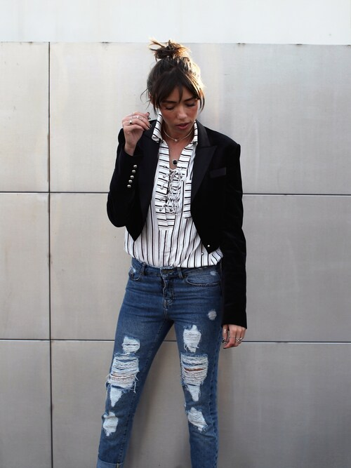 (The Kooples) using this Thania Peck looks