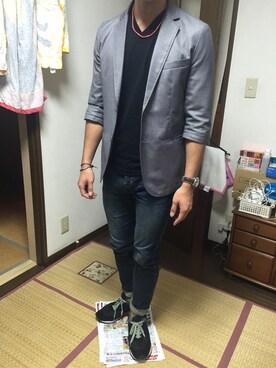 TAKAHIROさんの(BLUE TORNADO|ブルートルネード)を使ったコーディネート