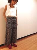 yurikoさんの「バンダナガウチョ(UNRELISH|アンレリッシュ)」を使ったコーディネート