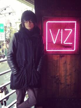 VIZ STORE-TOKYO|VIZSTORE/STAFFさんの「JIMMY'S COAT(VIRGO)」を使ったコーディネート