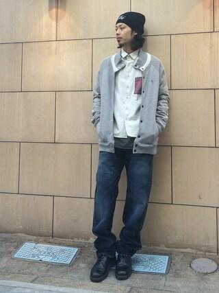 VIZ STORE-TOKYO|VIZSTORE/STAFFさんの「FONTE SHIRTS(VIRGO|ヴァルゴ)」を使ったコーディネート