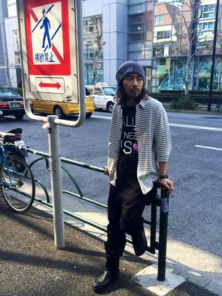 VIZ STORE-TOKYO|VIZSTORE/STAFFさんの「VG BASQUE(VIRGO|ヴァルゴ)」を使ったコーディネート