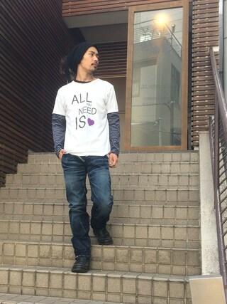 VIZ STORE-TOKYO|VIZSTORE/STAFFさんの「all of needs(VIRGO|ヴァルゴ)」を使ったコーディネート