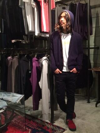 VIZ STORE-TOKYO|VIZSTORE/STAFFさんの「SULTAN(VIRGO|ヴァルゴ)」を使ったコーディネート
