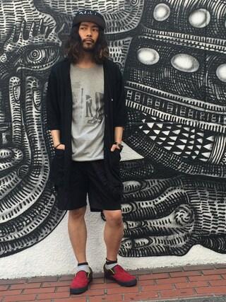 VIZ STORE-TOKYO VIZSTORE/STAFFさんの「Rip my rock star(VIRGO ヴァルゴ)」を使ったコーディネート