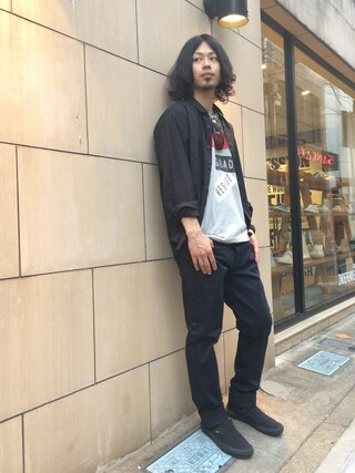 VIZ STORE-TOKYO VIZSTORE/STAFFさんの「KLASSIC DRESS SHIRTS(VIRGO ヴァルゴ)」を使ったコーディネート