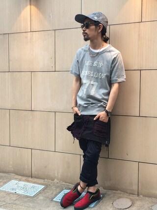 VIZ STORE-TOKYO VIZSTORE/STAFFさんの「Sup swt(VIRGO ヴァルゴ)」を使ったコーディネート