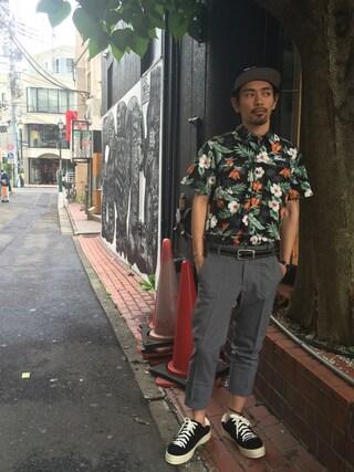 VIZ STORE-TOKYO|VIZSTORE/STAFFさんの「Clash passion shirts(VIRGO|ヴァルゴ)」を使ったコーディネート