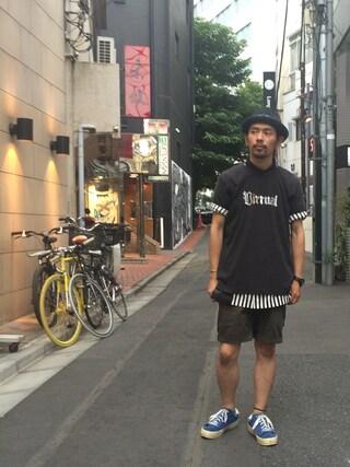 VIZ STORE-TOKYO|VIZSTORE/STAFFさんの「G-staff shirts(VIRGO|ヴァルゴ)」を使ったコーディネート