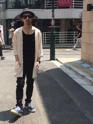 VIZ STORE-TOKYO|VIZSTORE/STAFFさんの「Ancle hemp cardigan(VIRGO|ヴァルゴ)」を使ったコーディネート