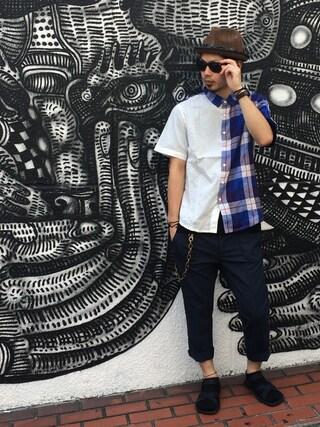 VIZ STORE-TOKYO|VIZSTORE/STAFFさんの「Change shirts(VIRGO|ヴァルゴ)」を使ったコーディネート