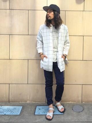 VIZ STORE-TOKYO|VIZSTORE/STAFFさんの「Ice chocolate shirts(VIRGO|ヴァルゴ)」を使ったコーディネート