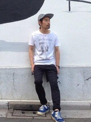VIZ STORE-TOKYO|VIZSTORE/STAFFさんの「「falsification」(VIRGO|ヴァルゴ)」を使ったコーディネート