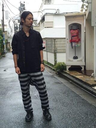 VIZ STORE-TOKYO|VIZSTORE/STAFFさんの「VANDAL SHIRTS(VIRGO|ヴァルゴ)」を使ったコーディネート