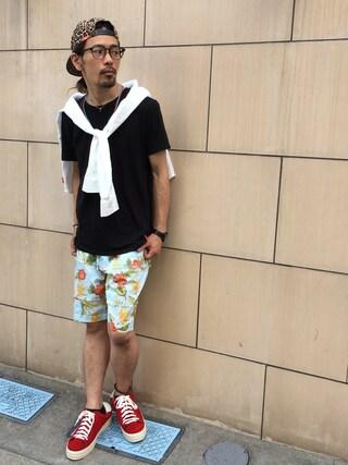 VIZ STORE-TOKYO|VIZSTORE/STAFFさんの「Clash passion pants(VIRGO|ヴァルゴ)」を使ったコーディネート