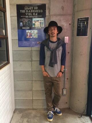 VIZ STORE-TOKYO|VIZSTORE/STAFFさんの「MALCOM(VIRGO|ヴァルゴ)」を使ったコーディネート