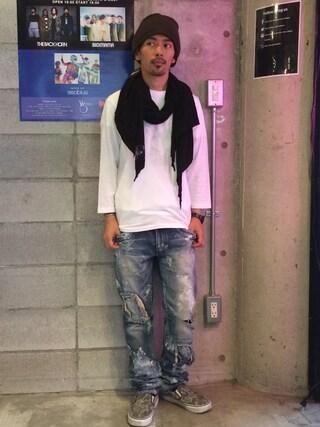 VIZ STORE-TOKYO|VIZSTORE/STAFFさんの「STRIDE RIB BAND(VIRGO|ヴァルゴ)」を使ったコーディネート