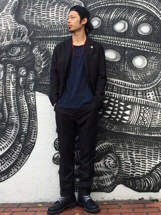VIZ STORE-TOKYO|VIZSTORE/STAFFさんの「TAILORED JKT {JUSTIN}(VIRGO|ヴァルゴ)」を使ったコーディネート