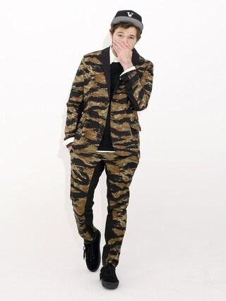 VIZ STORE-TOKYO|VIZSTORE/STAFFさんの「Spread tiger tailored jkt(VIRGO|ヴァルゴ)」を使ったコーディネート