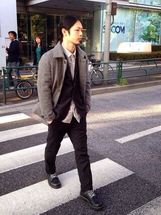 VIZ STORE-TOKYO|VIZSTORE/STAFFさんの「ARMED P-COAT(VIRGO|ヴァルゴ)」を使ったコーディネート