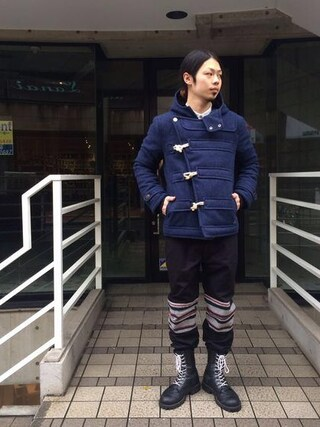 VIZ STORE-TOKYO|VIZSTORE/STAFFさんの「REFRACTION DUFFEL(VIRGO|ヴァルゴ)」を使ったコーディネート