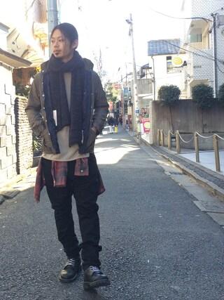 VIZ STORE-TOKYO|VIZSTORE/STAFFさんの「Thickness stall(VIRGO|ヴァルゴ)」を使ったコーディネート