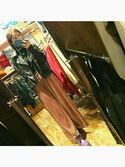 「FOREVER 21 Faux Leather Moto Jacket(Forever 21)」 using this まやん looks