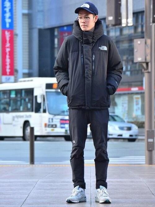 藤村 拓実|THE NORTH FACEのダウンジャケット/コートを使ったコーディネート , WEAR