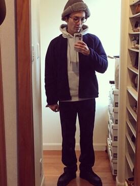 KUROさんの(Needles Sportswear ニードルス スポーツウェア)を使ったコーディネート