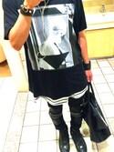 「GIVENCHY T-shirts(Givenchy)」 using this Naoki Nisikawa looks