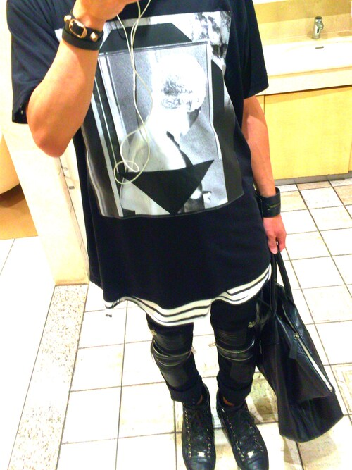「GIVENCHY T-shirts(Givenchy)」 using this Naoki Nisikawa looks