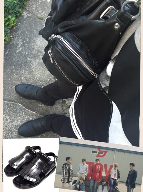 「Alexander Wang Marti Nylon Backpack, Black(Alexander Wang)」 using this Naoki Nisikawa looks