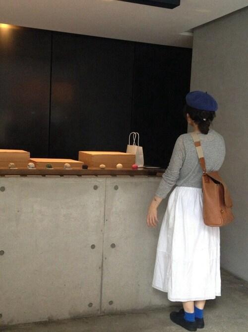 miriさんの「ベレー帽(dantan)」を使ったコーディネート